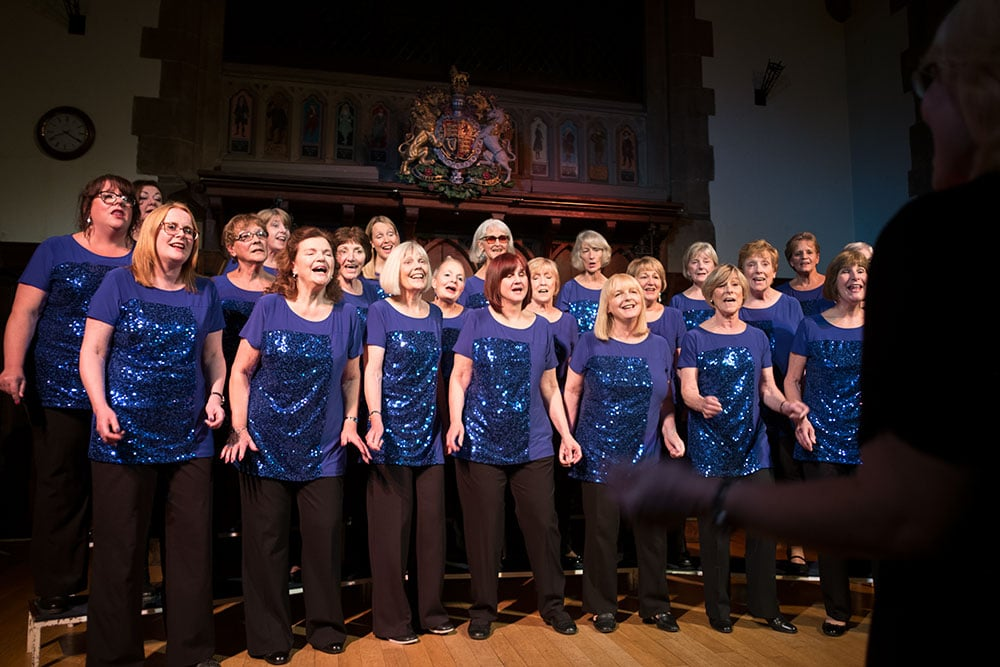 About us: Barberama is a women's choir based in Tamworth