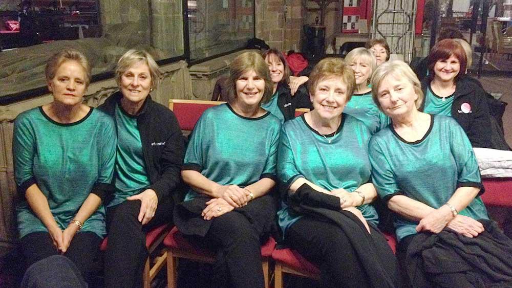 Barberama sings at Mayor's Christmas Concert